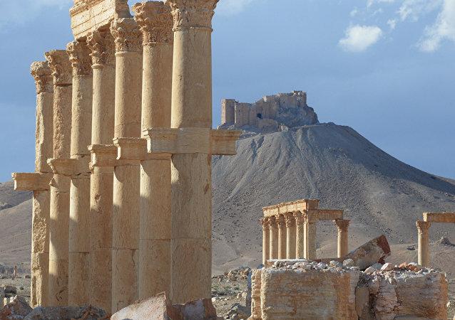 Le quartier historique de Palmyre