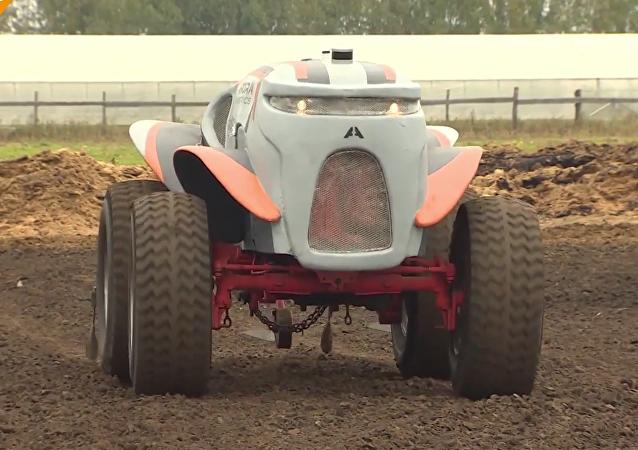 Un Agrorobot qui rend le travail de l'agriculteur plus agréable
