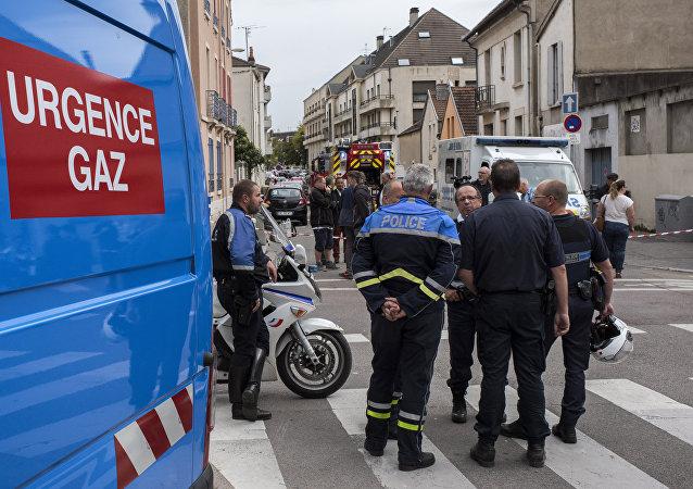 une explosion de gaz à Dijon