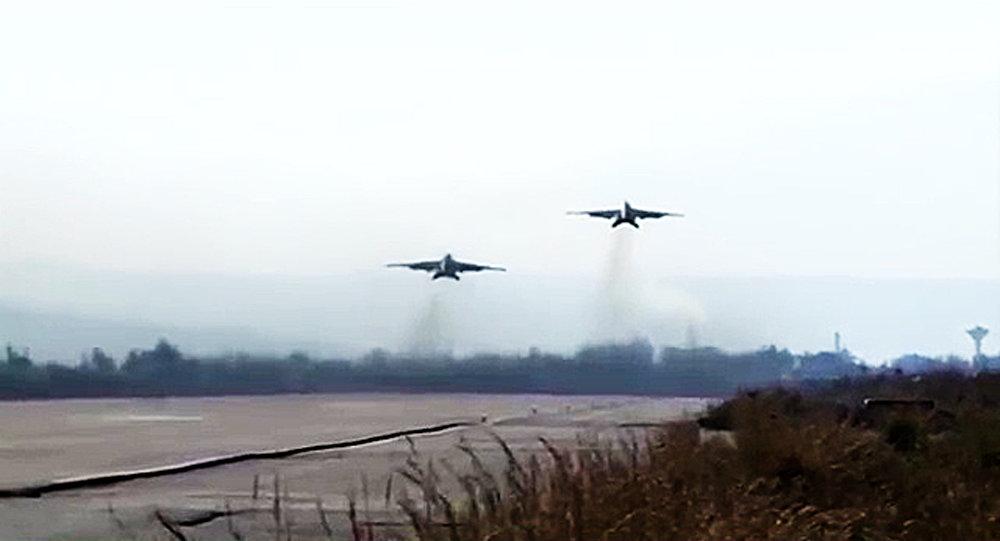 Les Forces aérospatiales russes en Syrie. Archive photo