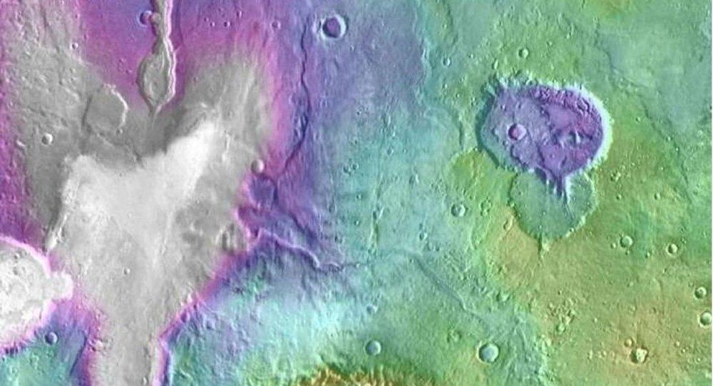 Les lacs de Mars
