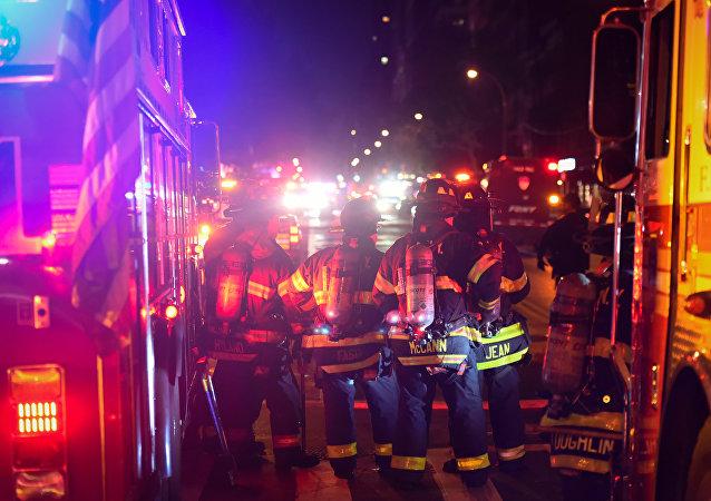 Puissante explosion à New York, dans le quartier de Chelsea à Manhattan.