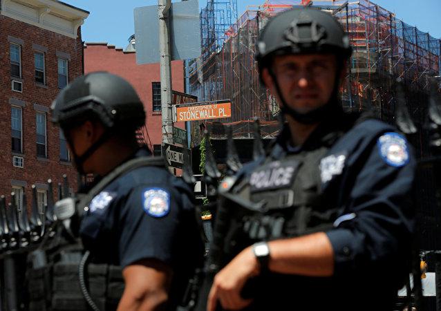 Police d`Etats Unies