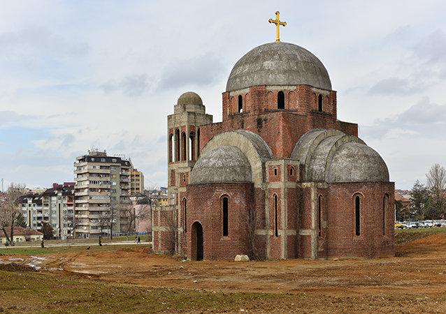 L'église orthodoxe du Christ-Sauveur