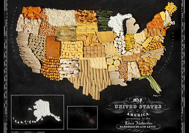 Les cartes gourmandes à travers le monde