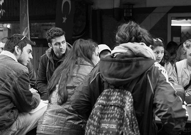 étudiants en Turquie