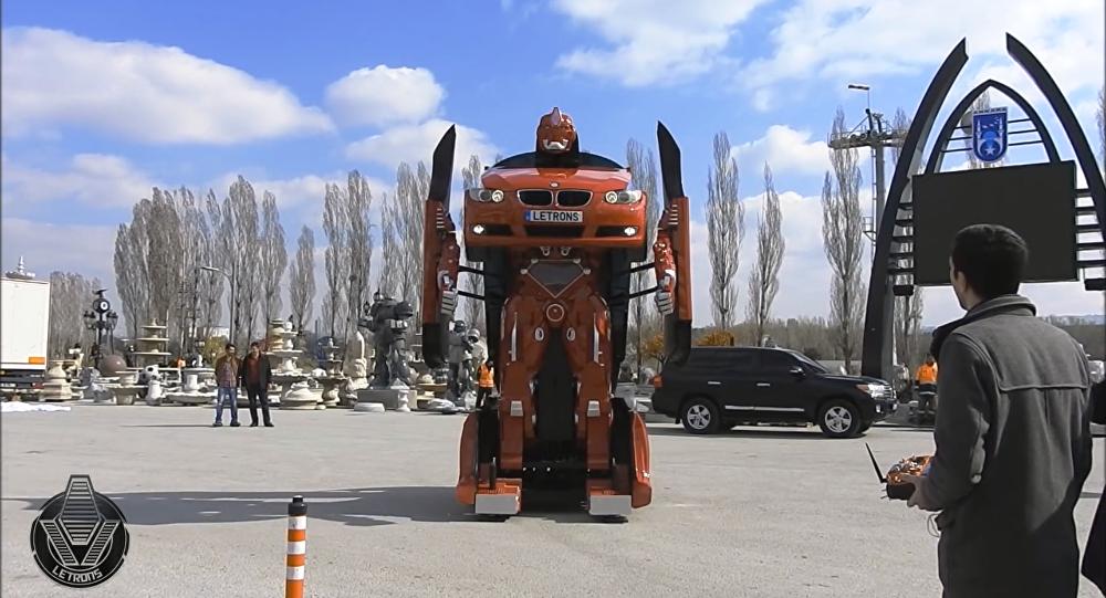 De vrais Transformers assemblés en Turquie