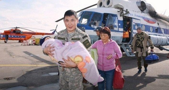 Cet enfant qui a survécu seul trois jours dans la taïga enfin retrouvé