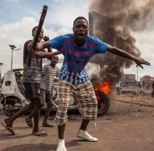 Manifestation à Kinshasa