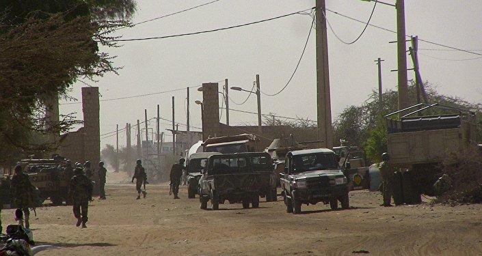 Les soldats maliens