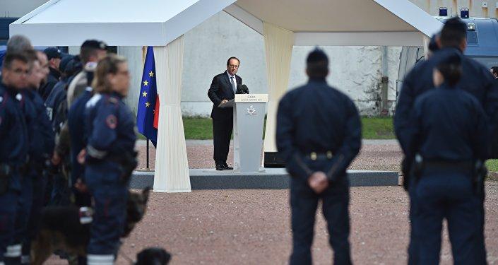François Hollande à Calais