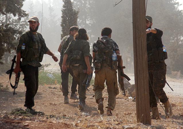 Rebelles du Front Fatah al-Cham (ex-Front al-Nosra)