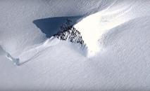 «pyramides» découvertes en Antarctique