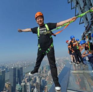 Un touriste chinois