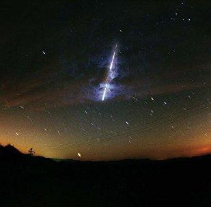 Une météorite (une image d'illustration)
