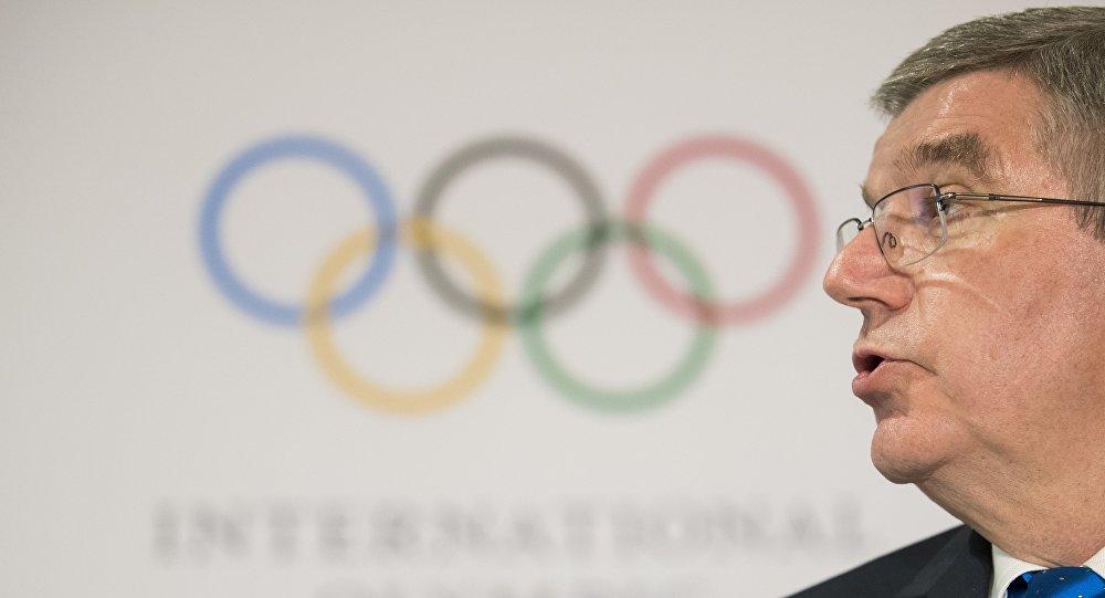 Thomas Bach, le président de CIO