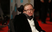 Le physicien britannique Stephen Hawking