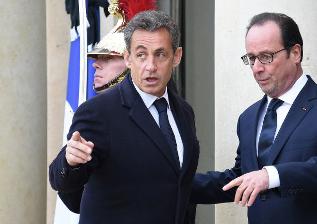 Nicolas Sarkozy-François Hollande