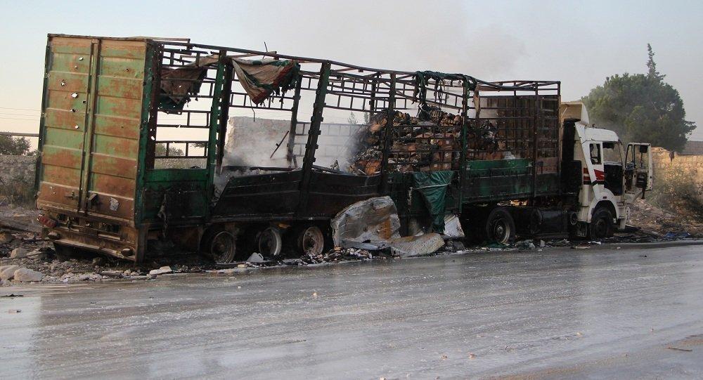 Convoi de l'Onu bombardé: l'opposition syrienne liée à al-Nosra impliquée