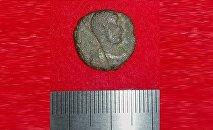 Pièce romaine découverte au Japon