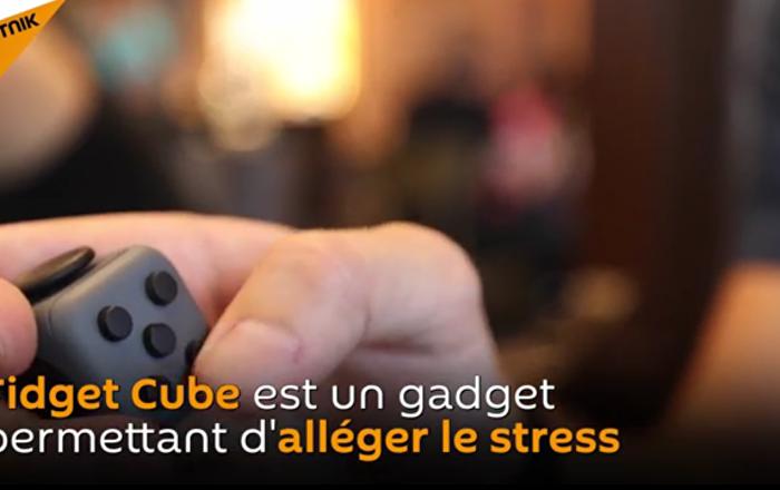 No Stress: rencontrez Fidget Cube qui vous aidera à vous concentrer