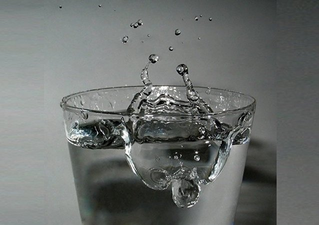 Un verre d'eau