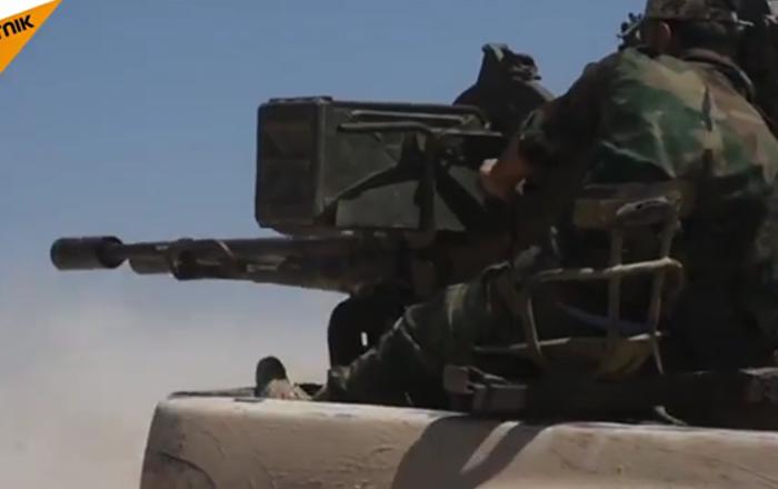 L'armée syrienne commence une large offensive sur les positions des islamistes