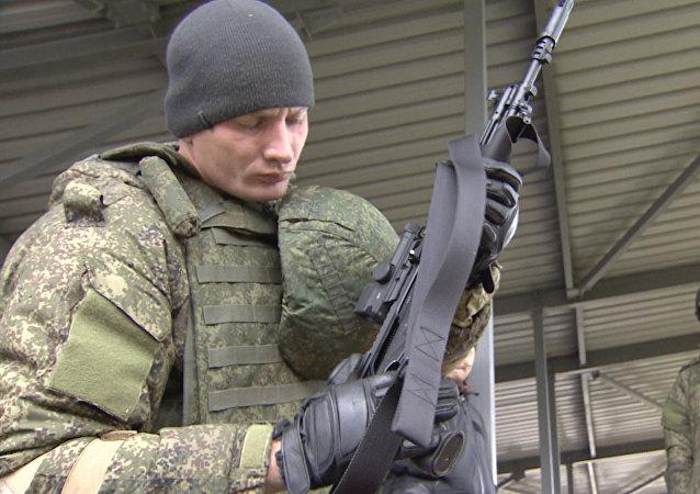 Dans le polygone Alabino ont été présentés les derniers développements de l'industrie de défense russe à destiantion de l'armée.