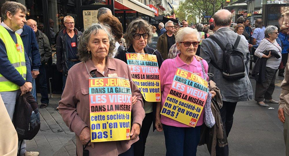 Journée nationale de mobilisation des retraités