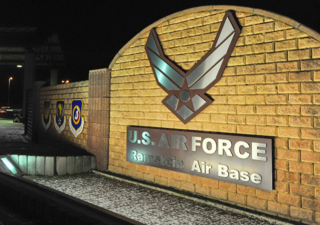 la base militaire américaine de Ramstein