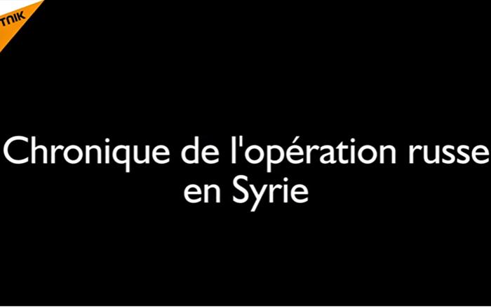 Il y a un an, la Russie lançait son opération aérienne en Syrie