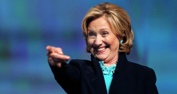 La candidate à la présidence américaine Hillary Clinton