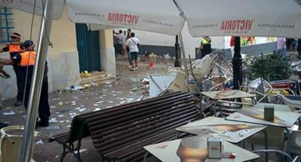 西班牙南部城市马拉加餐厅瓦斯爆炸 致70人受伤