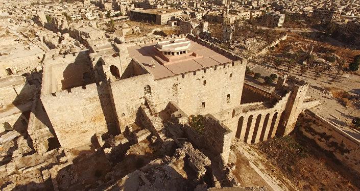 Quartiers est d'Alep, contrôlés par les djihadistes