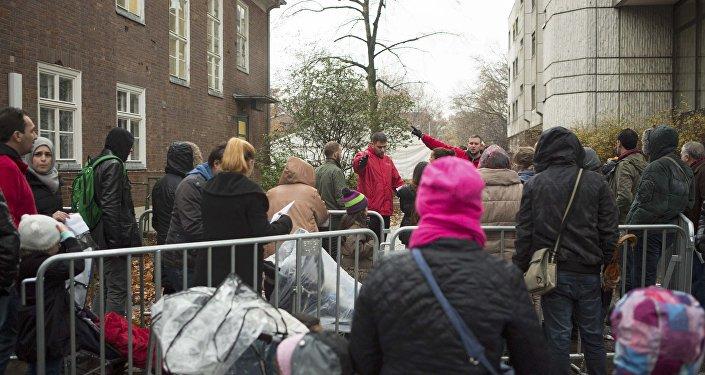 Les migrants à Berlin