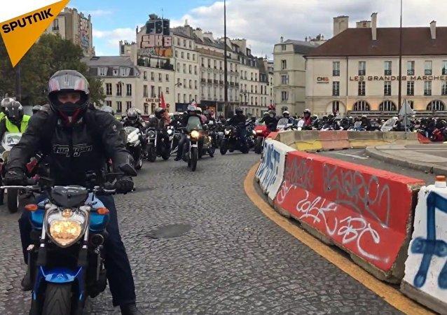 Les motards en colère