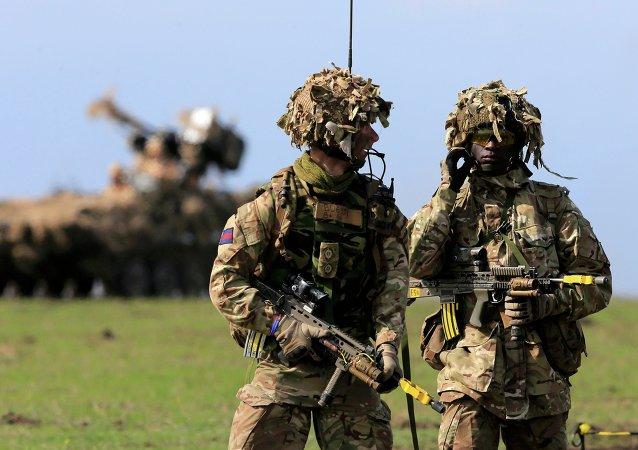 Des militaires britanniques