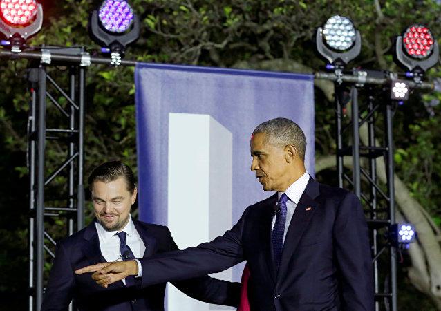Obama et DiCaprio