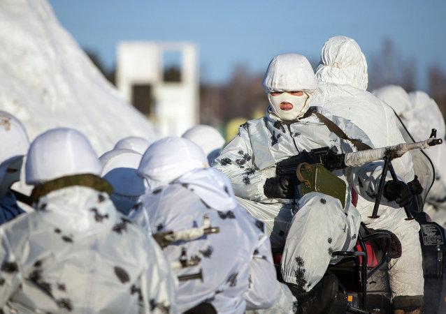 Les forces armées arctiques russes