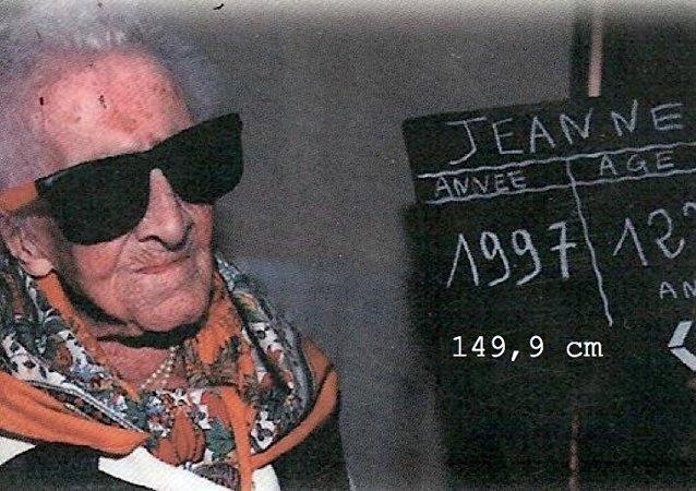 Jeanne Calment, 122 ans