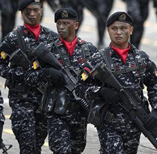 Les soldats philippins