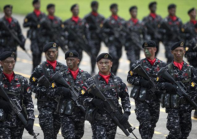 Soldats philippins