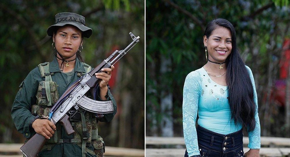 La beauté désarmée désarmante: le pacte de paix colombien en 10 portraits féminins