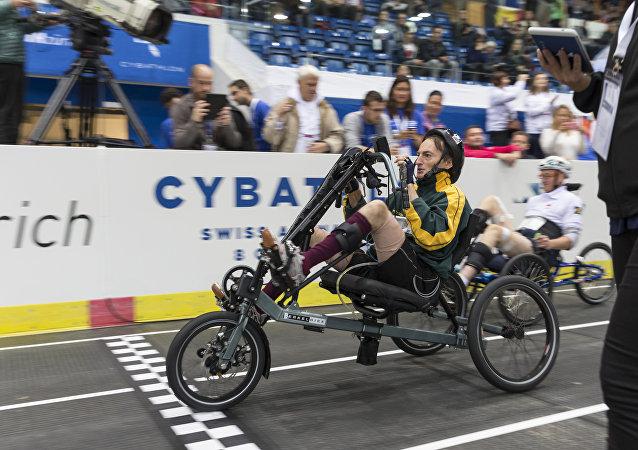 Championnat de cybathlon à Zurich