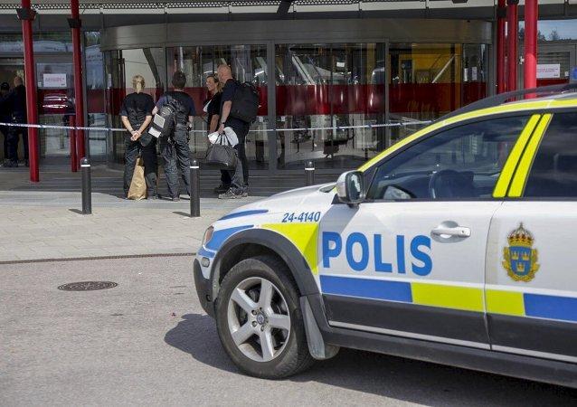 La police suédoise