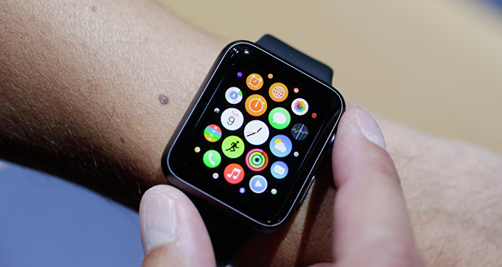 Une montre Apple Watch