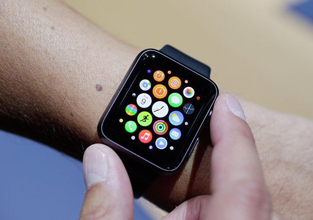 Une montre Apple Watch