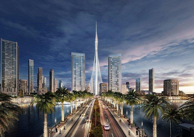 « The Tower ». Visuel en 3D
