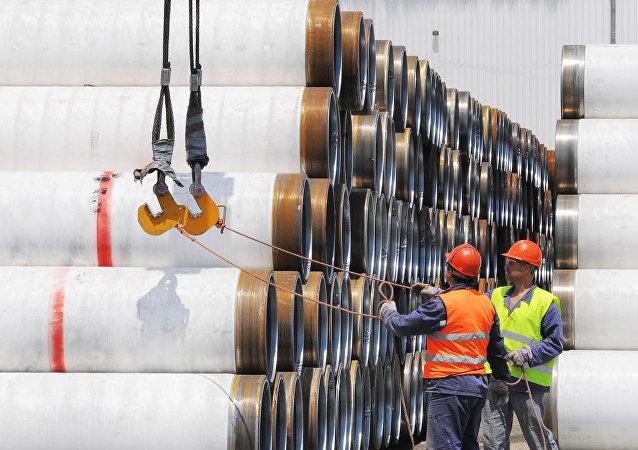 La construction du gazoduc Turkish Stream