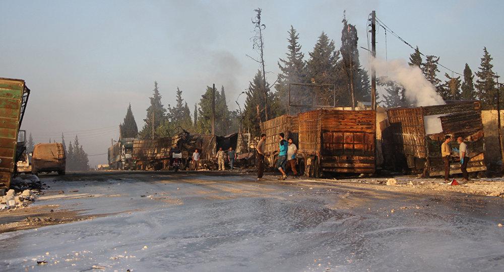 Poutine dit savoir qui a frappé le convoi de l'Onu près d'Alep